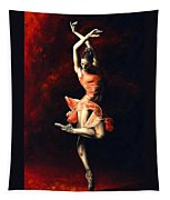 The Passion Of Dance Tapestry