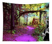 The Path Leads Ahead Tapestry
