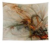The Penitent Man - Fractal Art Tapestry