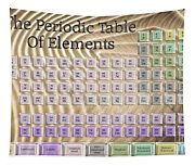 The Periodic Table Of Elements 1 Tapestry