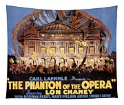 The Phantom Of The Opera Tapestry
