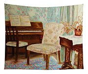 The Piano Room Tapestry