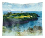 The Pine And Beach Links Tapestry