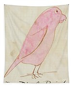 The Pink Bird Tapestry