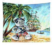 The Pirate Bear Tapestry