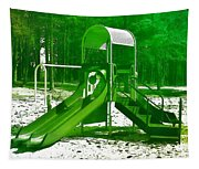The Playground II - Ocean County Park Tapestry
