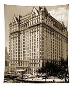 The Plaza Hotel Tapestry