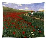 The Poppy Field Tapestry