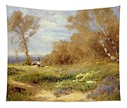 The Primrose Gatherers Tapestry