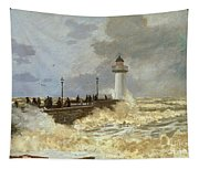 The Quay At Le Havre Tapestry