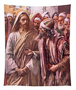 The Question Of The Sadducees Tapestry