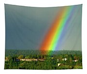 The Rainbow Apartments Tapestry