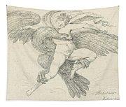 The Rape Of Ganymede Tapestry