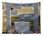 The Real Billy The Kid Tapestry