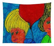 The Red Balloon  Tapestry