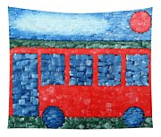 The Red Bus Tapestry