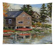 The Red Canoe Tapestry