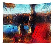 The Red Chair Tapestry