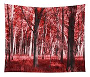 The Red Forest Tapestry