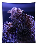 The Red Lionfish Tapestry