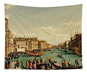 The Redentore Feast In Venice Tapestry