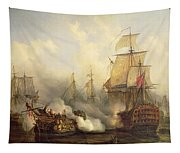 Unknown Title Sea Battle Tapestry