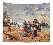 The Return Of Fishermen Tapestry