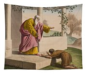 The Return Of The Prodigal Son Tapestry