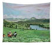 The Rhine Near Sakingen Tapestry