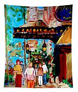 The Ritz Carlton In Spring Tapestry