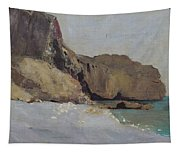 The Rocks At Vallieres Tapestry