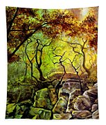 The Rocks In Starachowice Tapestry