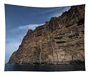 The Rocks Of Los Gigantes 1 Tapestry