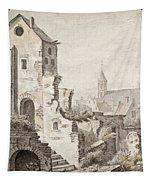 The Ruins Of Utrecht Tapestry