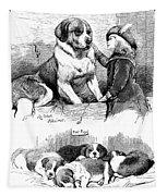 The Saint Bernard Club Dog Show Tapestry