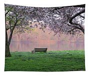 The Schuykill River At Kelly Drive In The Spring Tapestry
