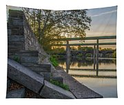 The Schuylkill Steps - East Falls - Philadelphia Tapestry