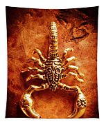 The Scorpion Scarab Tapestry