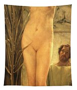 The Sculptor's Model Tapestry