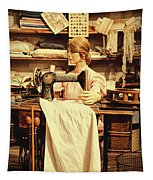 The Seamstress At Work Tapestry