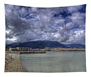 The Seasons On Lake Pend Oreille Tapestry