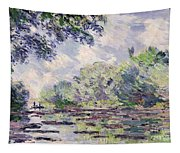 The Seine At Giverny Tapestry