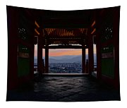 The Setting Sun And Kiyomizu-dera Tapestry