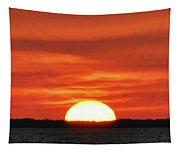 The Setting Sun Tapestry
