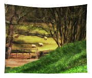The Sheep's In The Meadow Tapestry