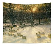 The Shortening Winters Day Is Near A Close Tapestry