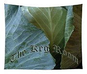 The Shy Cabbage The Keg Room Old English Hunter Green Tapestry