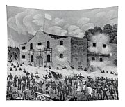The Siege Of The Alamo Tapestry