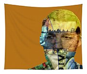 The Silent Type Tapestry