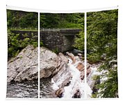 The Sinks Smoky Mountains Triptych Tapestry